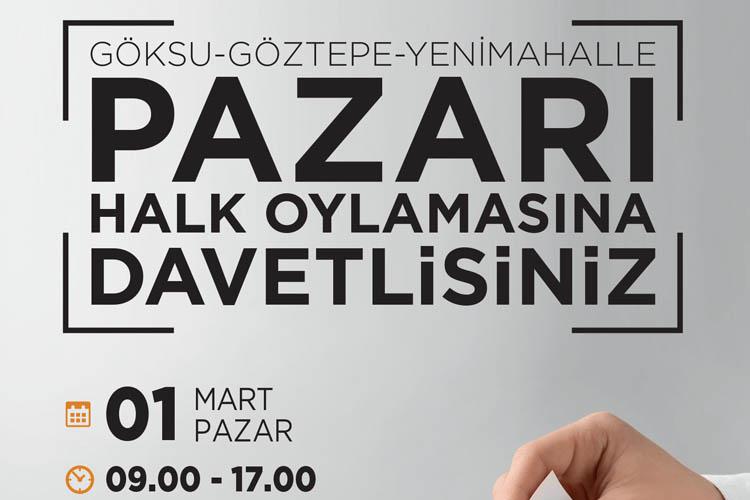 Beykoz'da pazar yeri için halk oylaması