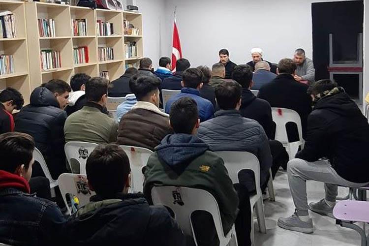 Rüzgarlıbahçespor, İdlib şehitleri için Kur'an okuttu