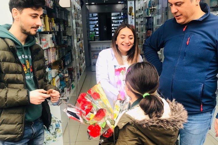 Beykoz'da öğrenciler 8 Mart'ı anlamlandırdı