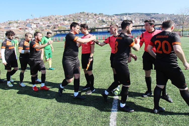 Çiğdemspor ferahspor maçına kilitlendi
