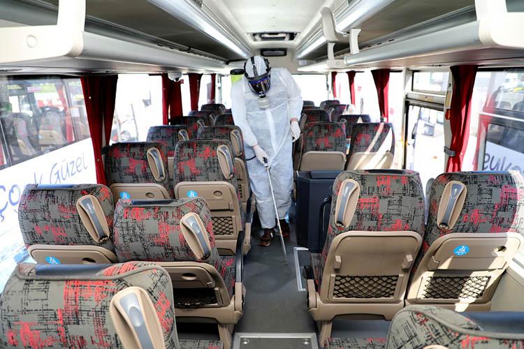 Beykoz'da köşe bucak koronavirüs temizliği
