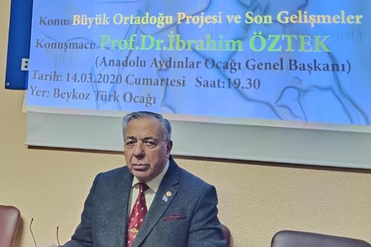 Büyük Ortadoğu Projesi Beykoz'da konuşuldu