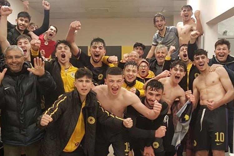 Çubukluspor U19, Beykoz'da şampiyonluğunu ilan etti