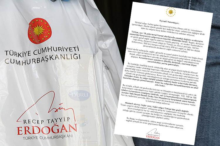 Beykoz'da hijyen paketleri vatandaşlara ulaştırılıyor