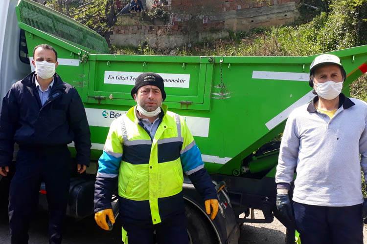 Beykoz'da temizlik işçilerine hakarete sessiz kalmadı