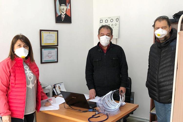 Beykoz Eğitime Destek Derneği sağlıkçıların yanında
