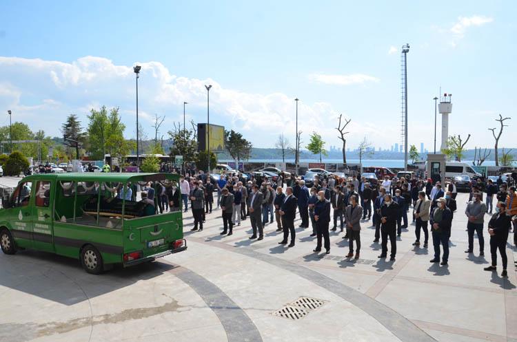 Mehmet Temel, Beykoz'da son yolculuğuna uğurlandı
