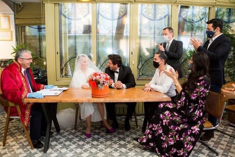 Ünlüleri Beykoz'da Mehmet Abay evlendiriyor