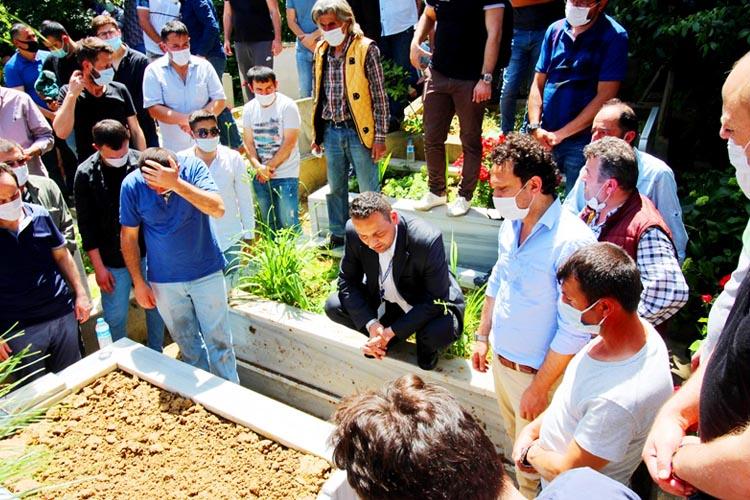 Sedat Okur gözyaşlarıyla ebediyete uğurlandı