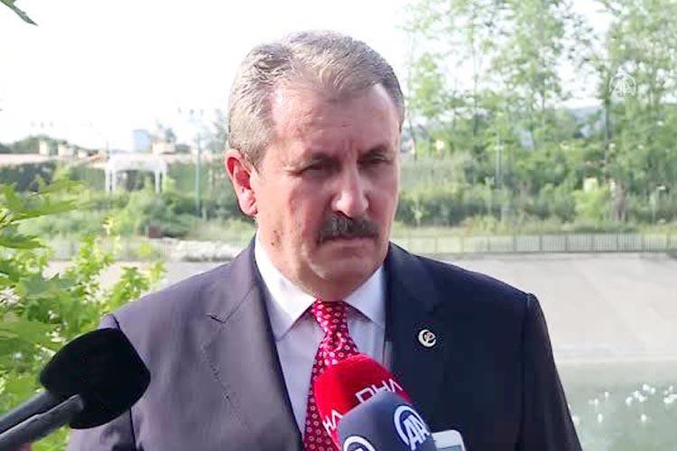 BBP Genel Başkanı Destici Beykoz'da konuştu