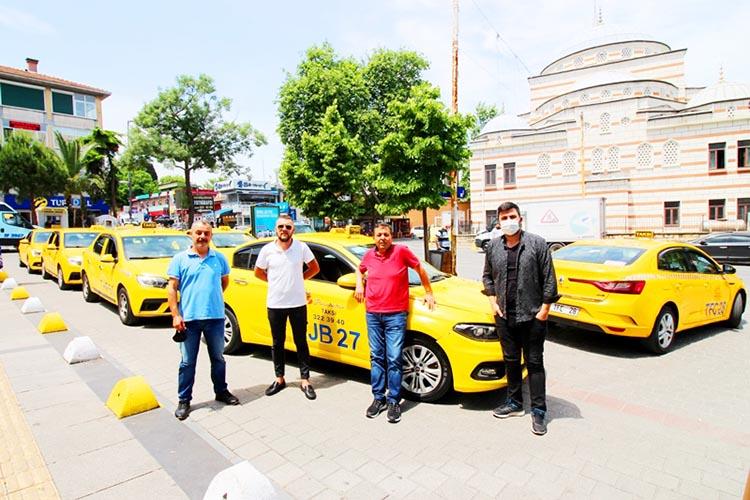 Beykoz'da taksicilerin umudu semt pazarları ve hastane