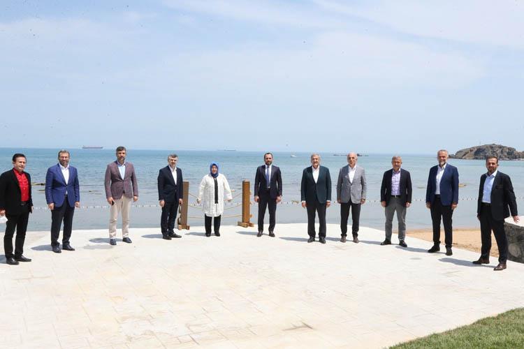 Murat Aydın, Başkanları Beykoz'da ağırladı