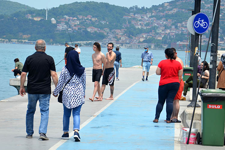 Beykoz'da boğulma tehlikesi geçiren genç bulunamadı