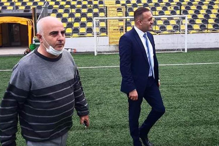 İBB Spor Müdüründen Beykoz Stadı'na ziyaret