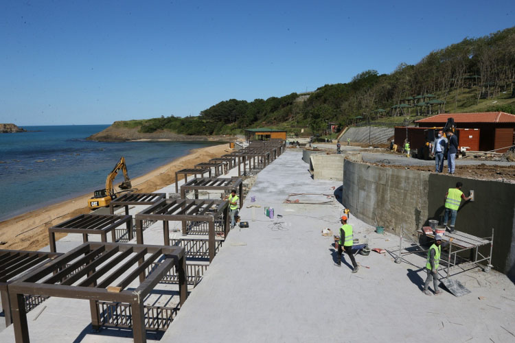 Bein Sports, Riva'nın plajlarını ziyaret etti