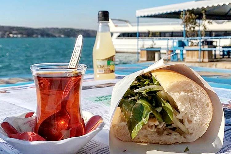 İstanbul Boğazı, lezzet ve Beykoz Balık Ekmek
