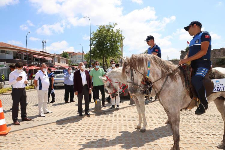 Beykoz Riva'daki atlara ilişkin açıklama