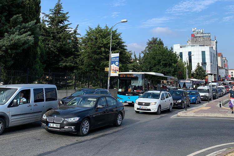 Beykoz'da pazartesi trafiği isyan ettirdi