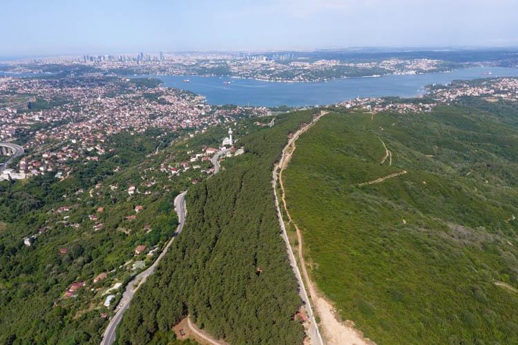 Ayasofya'dan Karadeniz'e, Beykoz'da bir seyir terası