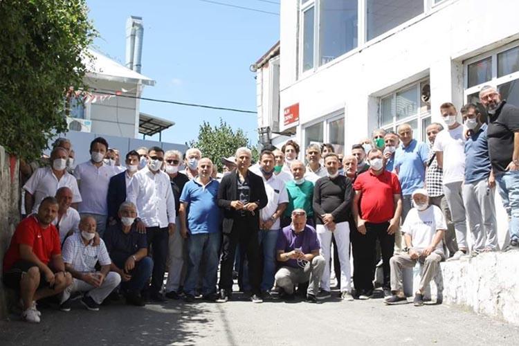 Ali Düşmez Beykoz'da kulüp temsilcileri ile buluştu