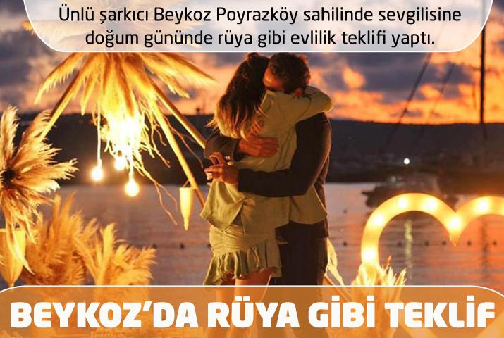 Ünlü şarkıcının Beykoz Poyrazköy'deki rüya teklifi