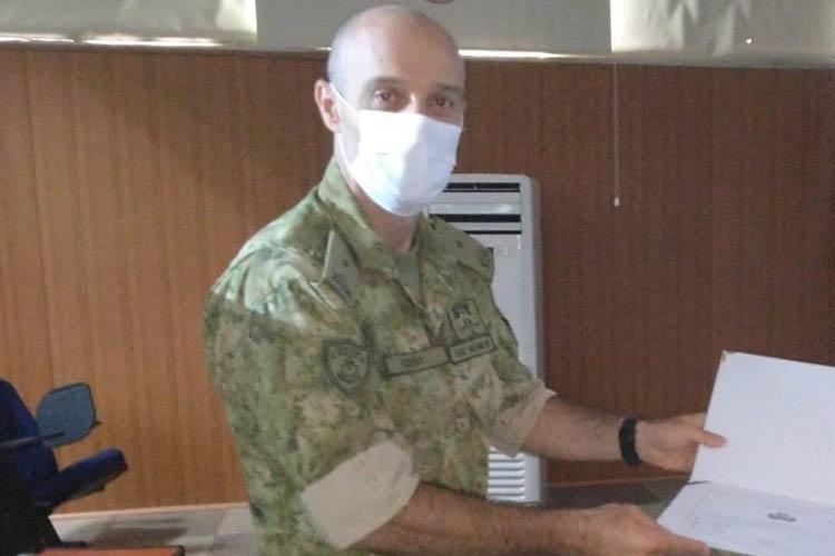 Kardak'a Türk bayrağı diken Amiral Beykoz'a atandı