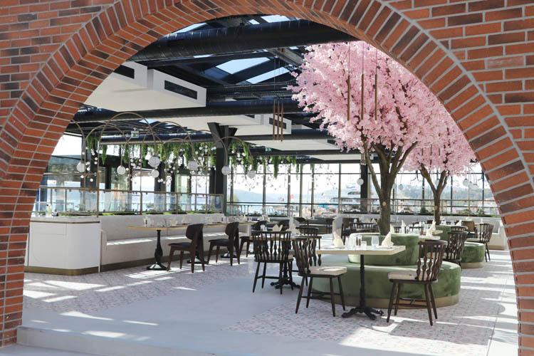 Beykoz'un 7/24 hizmet verecek restoranı açılıyor