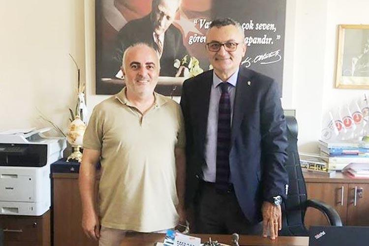 Beykoz Kulüp Başkanından İBB bürokratlarına ziyaret