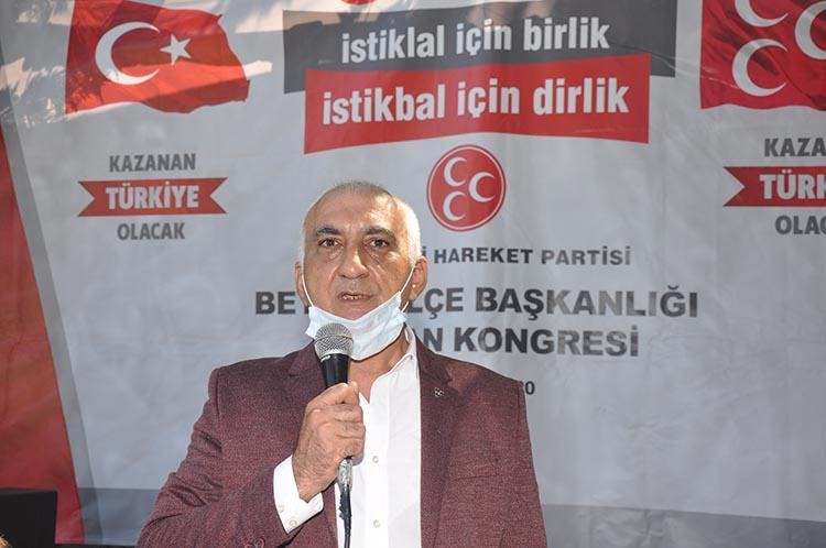 MHP Beykoz'da Oğuzhan Karaman yeniden seçildi