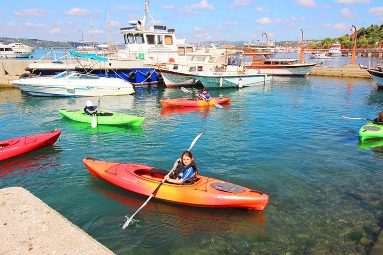 Beykoz'da kano eğitimleri başladı