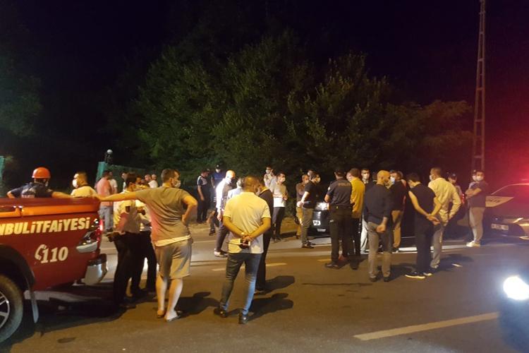 39 ilçe itfaiyesi Beykoz'da yangına müdahale etti