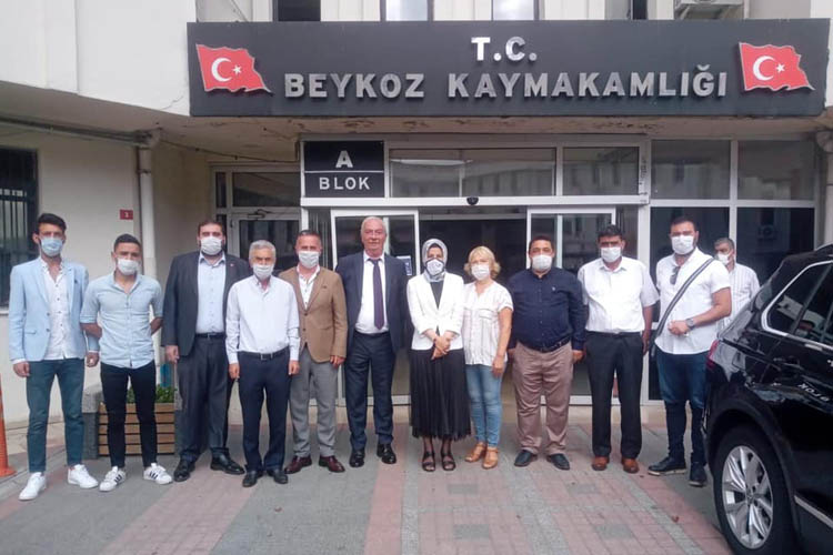 CHP Beykoz'dan yeni Kaymakama hoşgeldin ziyareti