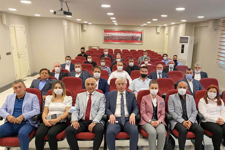 MHP Beykoz'dan İl Başkanı Birol Gür'e ziyaret