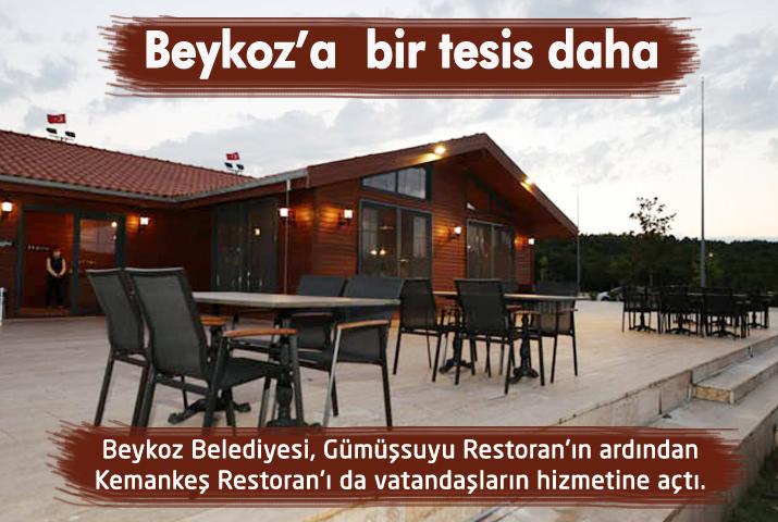 Beykoz Belediyesinden bir sosyal tesis daha