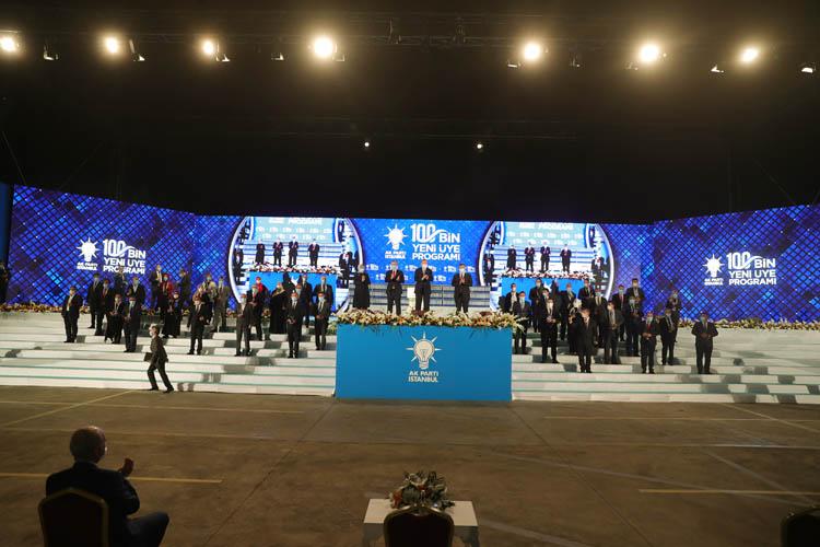 Beykozlu 100 bininci üyenin ödülü Erdoğan'dan