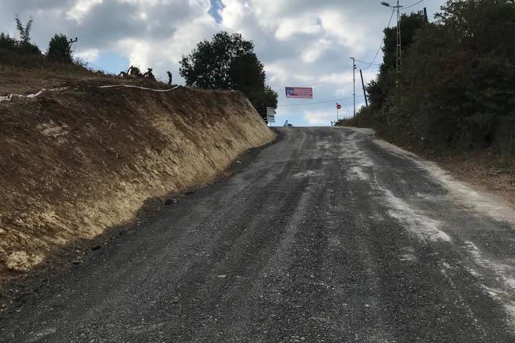 Beykoz'da 14 yıllık yol sorunu çözüldü
