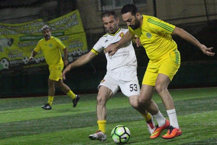 Beykoz Kelle İbrahim 46 golle şenlendi