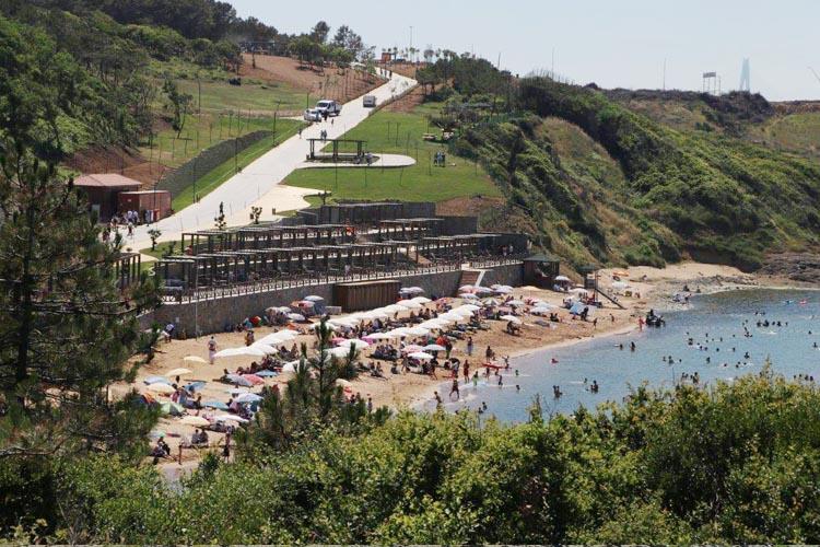 Beykoz Riva'da kadın plajı uygulaması sona erdi