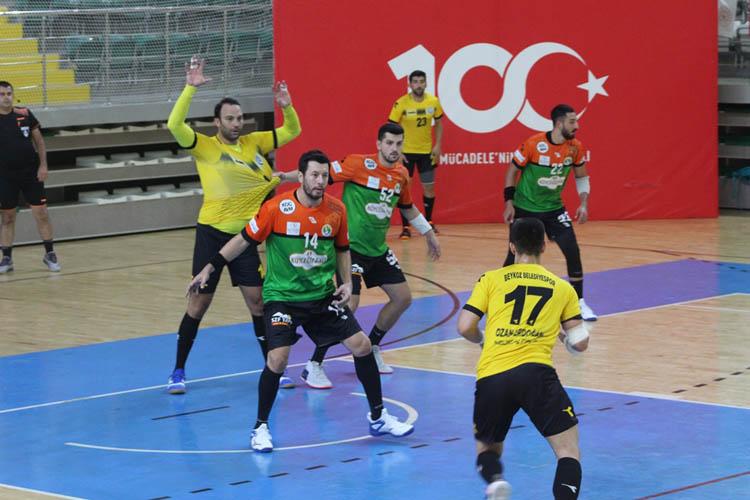 Beykoz Belediyespor Muğla'dan mutlu döndü 31-30