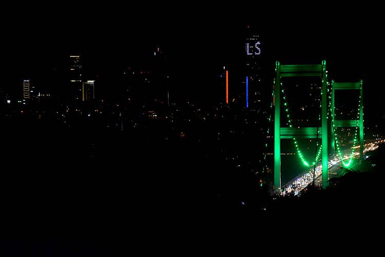 Beykoz'un köprüleri Serebral Palsi'ye dikkat çekti