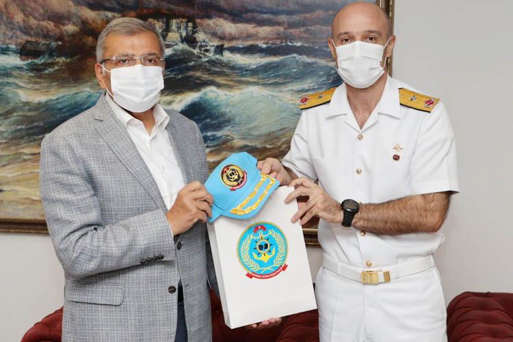 Aydın'dan İstanbul Boğaz Komutanlığına ziyaret