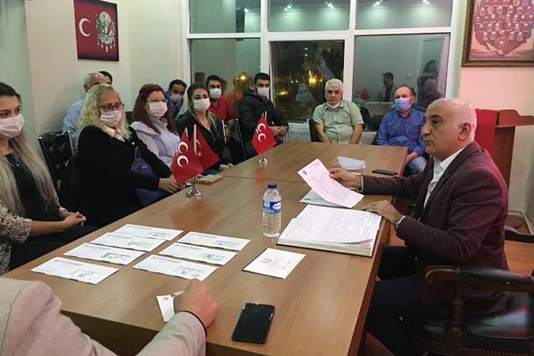 MHP Beykoz'da kongre sonrası görev dağılımı