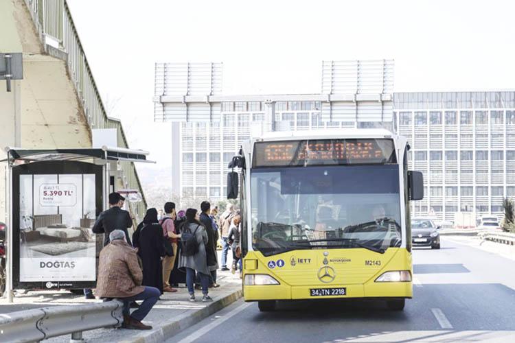 Beykoz'da otobüsler yarın 14.00'e kadar ücretsiz