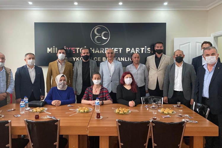 Dilmaç'tan MHP Beykoz İlçe Başkanlığına ziyaret