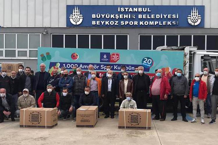 İBB'den Beykoz'un spor kulüplerine yardım