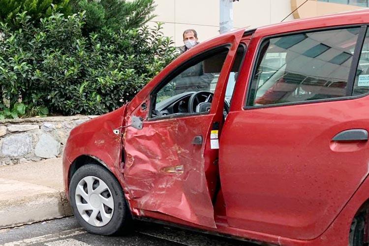 Beykoz haftaya trafik kazalarıyla başladı