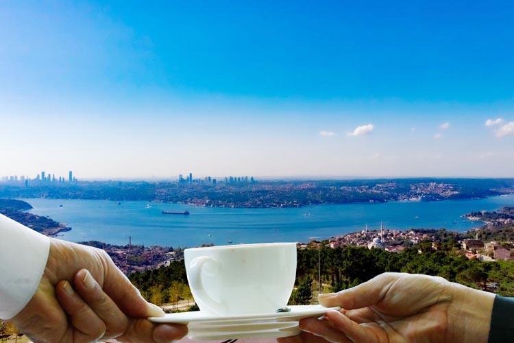 Beykoz Karlıtepe'den İstanbul Boğazını seyredin