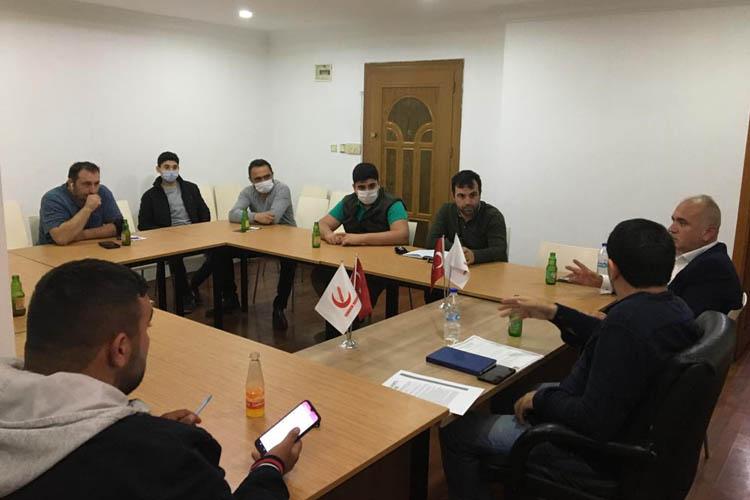 Yeniden Refah Beykoz'da İlçe Başkanı değişikliği