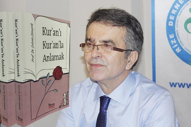 Prof. Dr. Şaban Şimşek yeni kitabını Beykoz'da anlattı