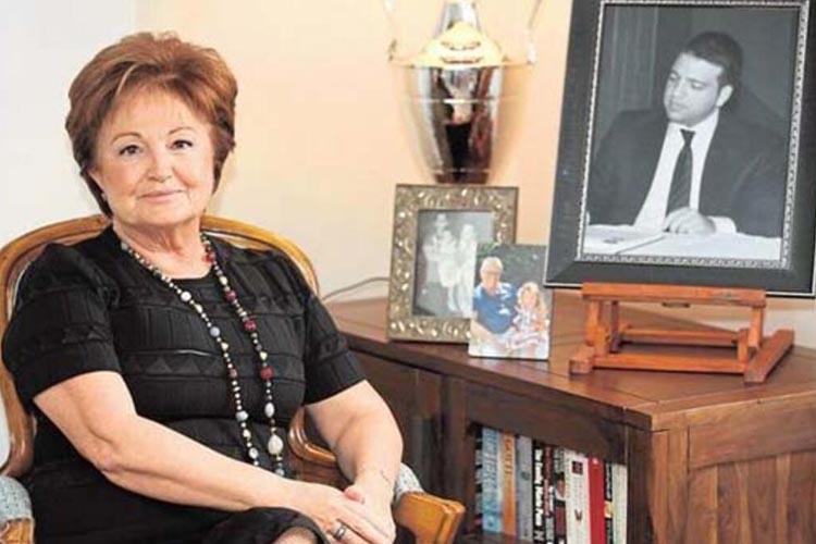 Berna Yılmaz taziyeleri Beykoz'daki evinde kabul edecek